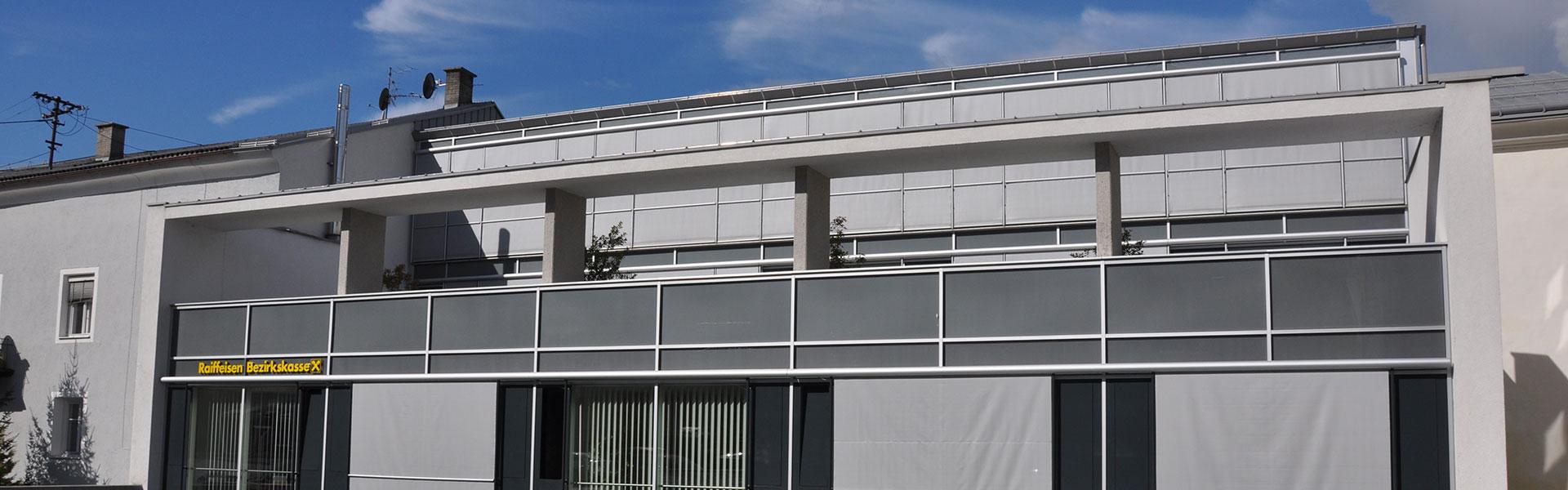 Ennemoser Sonnenschutz - Transparentrollo